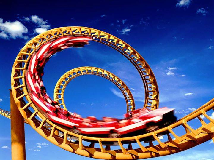 riding a roller coaster and loving someone Love is a roller coaster  of romantic relationshipshere are 4 lessons about love's roller coaster ride:  carrying the torch for someone or two halves of a whole and most of us are overly .